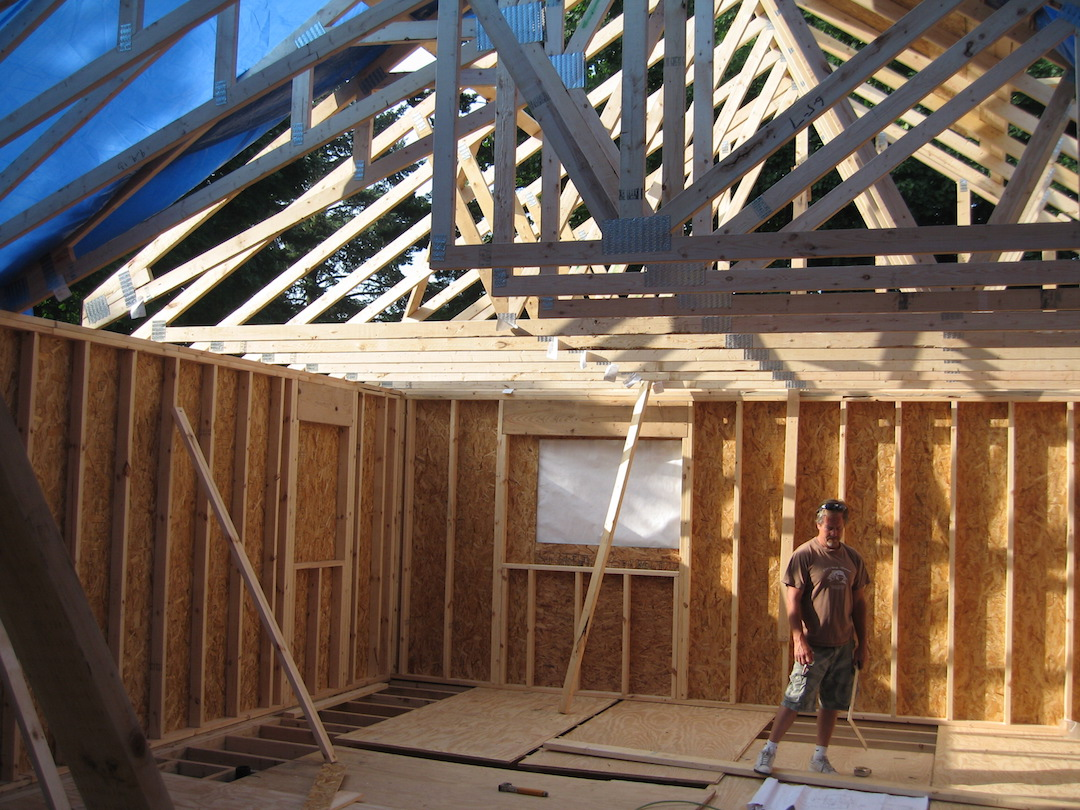 6. ROOF FRAMING - Front